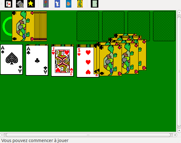 My Solitaire implementation in Qt